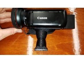 Custom Canon Vixia HF R800 35mm Base Tripod Mount For SunPak