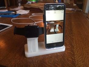 Apple Watch & iPhone (5/6/6+) Combo Dock