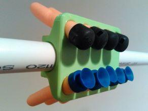 Blowgun ammo holder