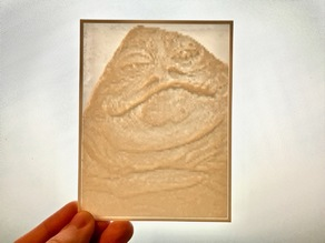 Jabba the Hutt Lithopane/Lithophane #1
