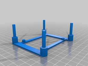 Raspberry PI stack mount for Raspberry PI