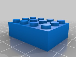 My Customized Parametric Lego Brick