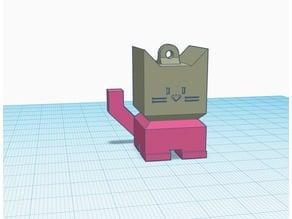 Cali Cat Keychain Screwbox