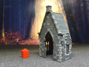 medieval building 1/87 scale (H0)