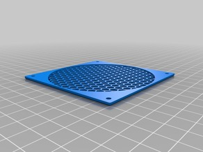80mm fan protection cover HEX (customized)