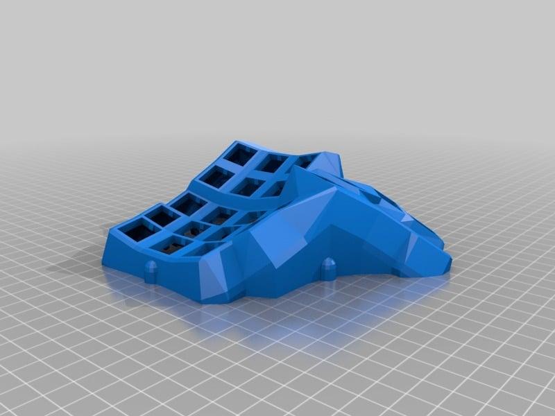 dactyl manuform 3D model