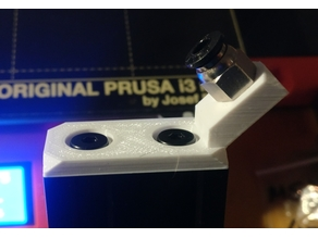Prusa MK3 Full Bear Z-cap with reverse bowden