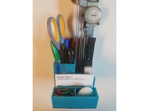 Multi-Purpose and Multi-Tool Desktop Organizer