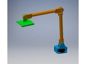 Friction arm LED