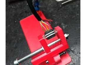Connector soldering helper