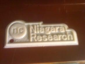 Niagara Research Keychain
