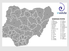 Map Puzzle of Nigerian States