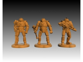 Horde Trooper (more poses) Masters Of the Universe - Miniature