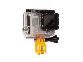 Customizable Rokenbok GoPro Mount