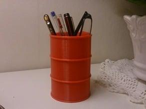 Desktop barrel.