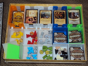 Lords of Waterdeep board game organizer