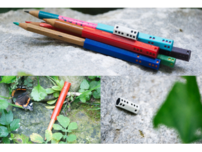 dice pencil extender or cap