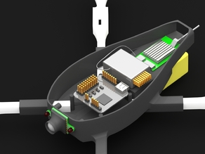 DroneBot Quadcopter Robot