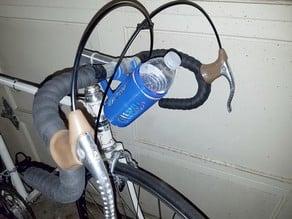 Handlebar Water Bottle Mount for 16.9oz (500ml) spring water bottle