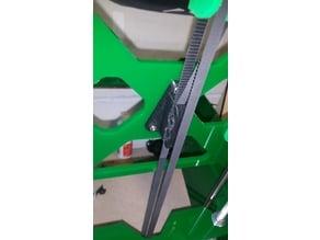 Prusa i3 Reprap 3 hole belt clamp