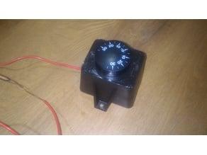 boiler thermostat housing
