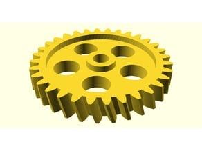 Parametrisches Stirnrad / Parametric Spur gear