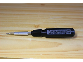 Screwdriver Handle for 4mm Hex Bits