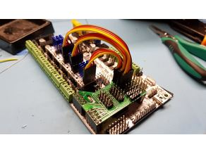 Rumba shield for TMC2130 + LCD + BL-touch / servo