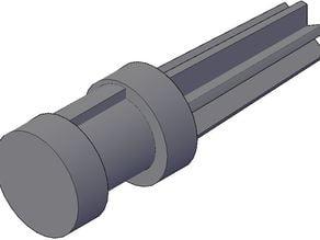 Telescopic tube endcap
