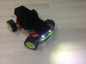 RC Car based on DC Motor 550
