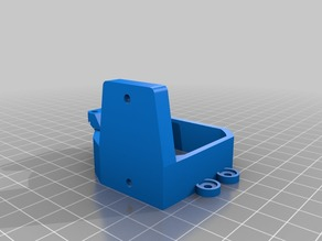 MK8 extruder mount with IR sensor