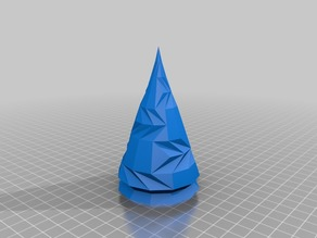 Low-Poly Hollow Yule Trees