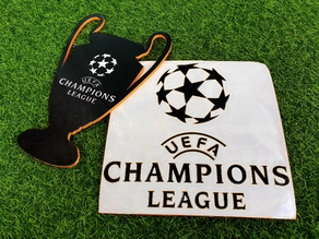 UEFA Champions League Decor Sign (color in same layer)