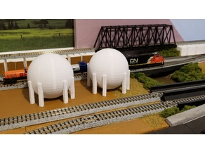 Natural Gas Tank (N-Scale)