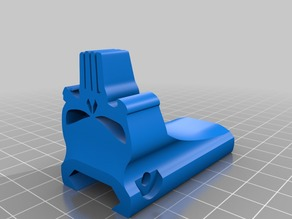 Punisher Picatinny HandStop for Ar15 (Airsoft)