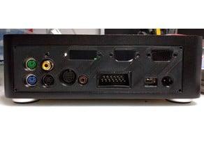 1088XEL Mini-ITX Atari 8-Bit Motherboard Rear Panel