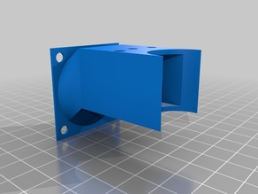 Hexagon hotend 40mm fan duct for Prusa i2
