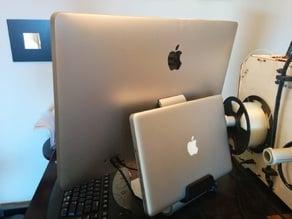 Macbook mount for Apple Display
