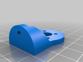 Pocket drone motor mount