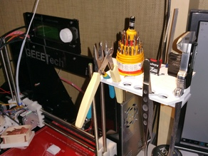 Tool holder for Geeetech Prusa I3 Pro B