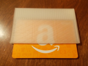 Used Gift Card Ice Scraper
