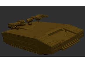 Hover Troop Transport (multiple turrets.)