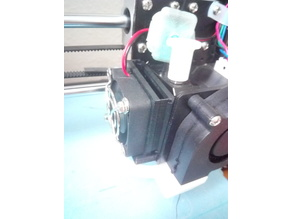 Anet A8 Filament Fan Holder for easy access
