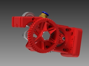 v2 Infill 3D Bowden 75 Geared Extruder