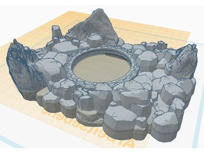 Vortex Portal Pool - 28mm mini - RPG - Pathfinder / D&D iPhoneX