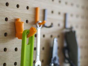 Hooks for pegboard(8mm hole, 30mm spacing)