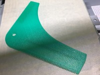 Beard shaping tool by eried - Thingiverse