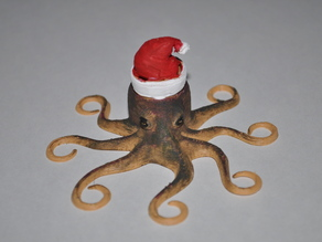 OctoClaus Ornament