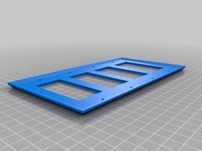 4 rocker design plate