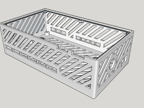 Rumba Board Enclosure w/ fan box